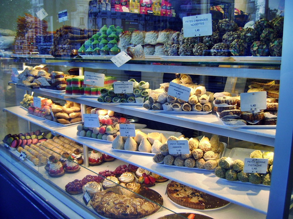 Delicious sweets in Paris