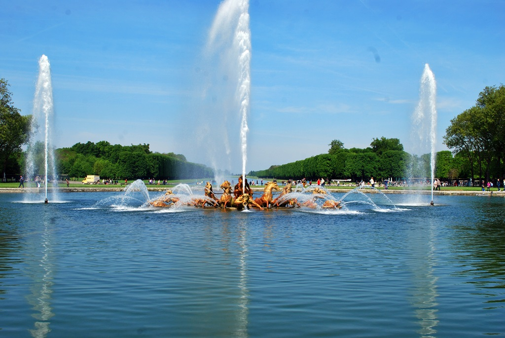 The Fountains of Versailles| © TravellingBuzz Photo