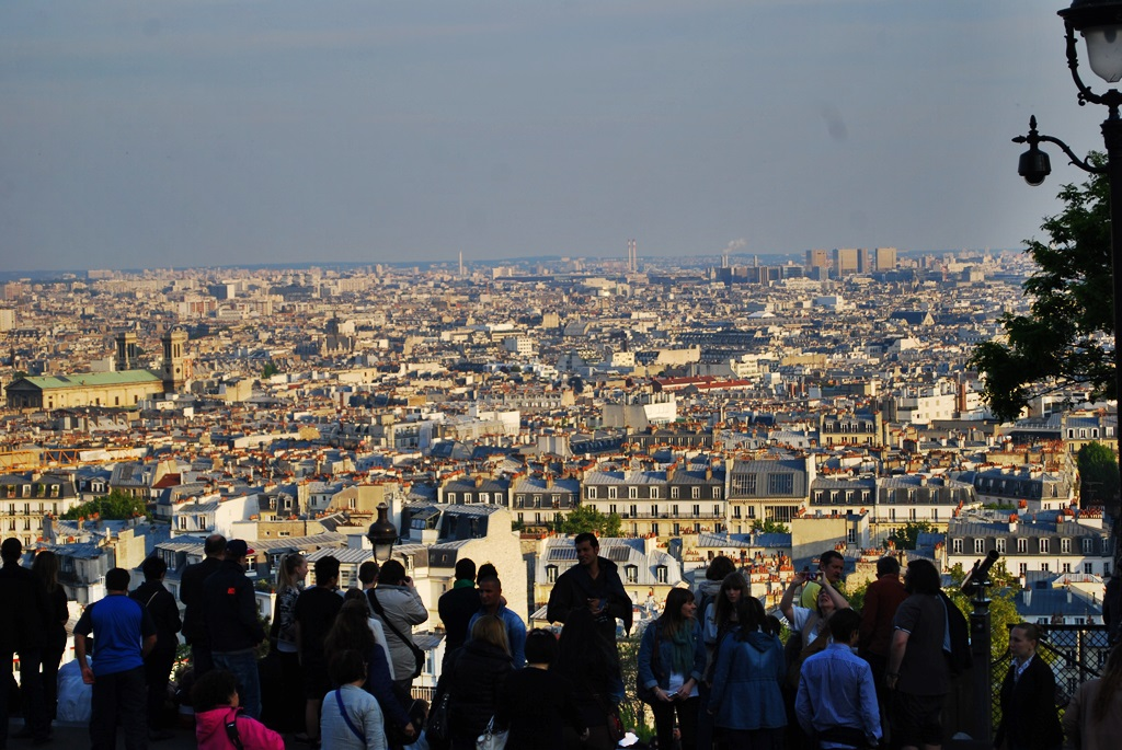 Paris, a view from Sacre Coeur | © TravellingBuzz Photo