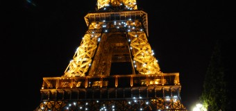 Picture of the day: The Eiffel Tower at night! May 6th 2014