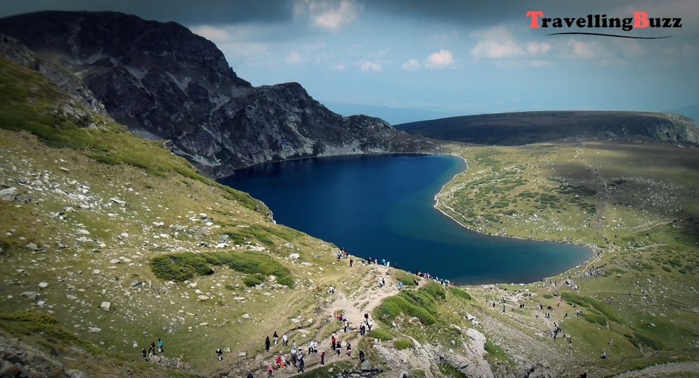 """The Kidney"" Lake, Rila Mountain, Bulgaria"