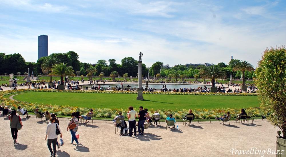 Luxemburg Gardens Paris
