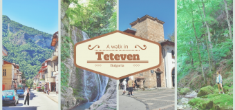 A picturesque walk in Teteven with a detour to the Jumping waterfalls