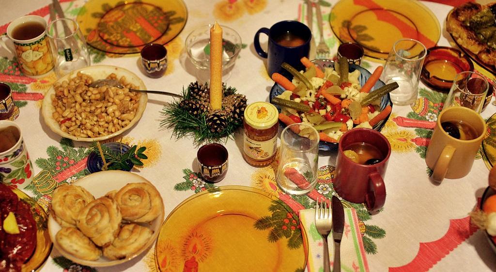 Christmas Eve in Bulgaria