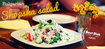 The best dish in Europe: Bulgarian Shopska Salad