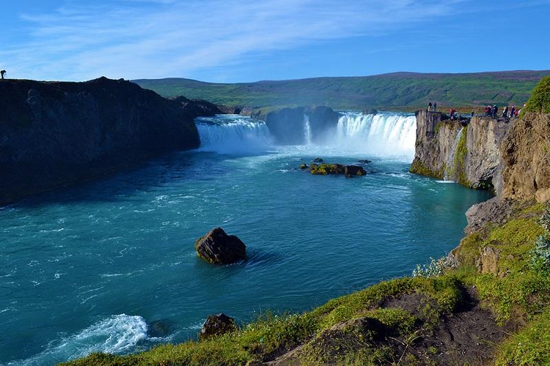 Goðafoss iceland waterfalls