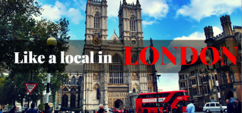 Holiday like a local in London