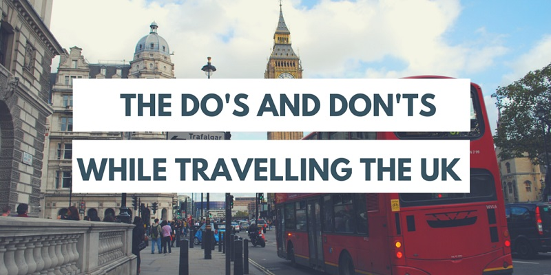 travelling in the uk
