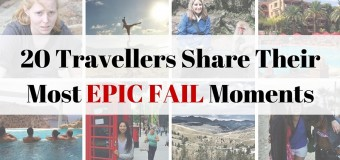 20 Travellers and Their Most Epic Fail Moments (Part 2)