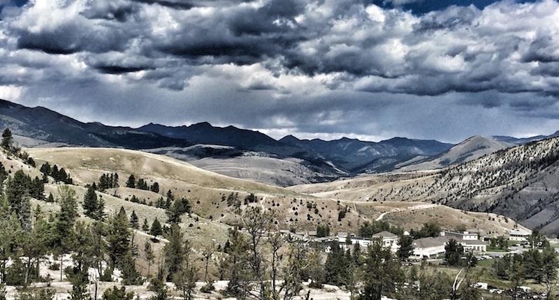 4 Yellowstone Landscape