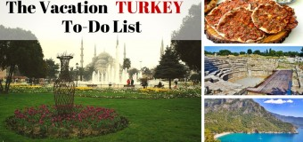The Vacation Turkey To-Do List