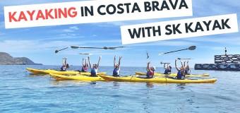 Kayaking in Costa Brava with SK Kayak