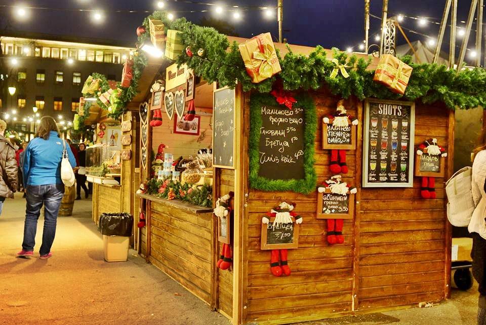 German Christmas market in Sofia