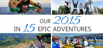 Our 2015 in 15 Epic Adventures
