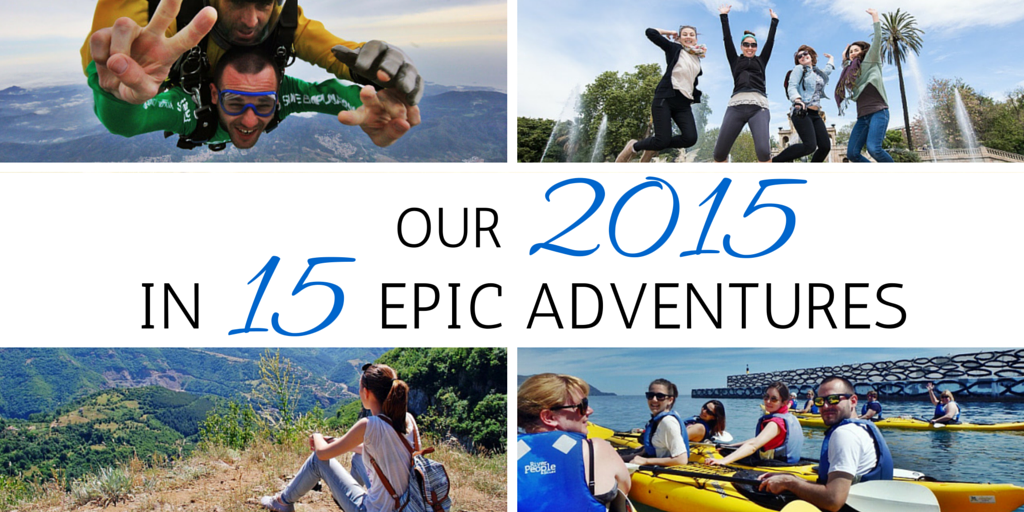 OUR 2015 in 15 adventures