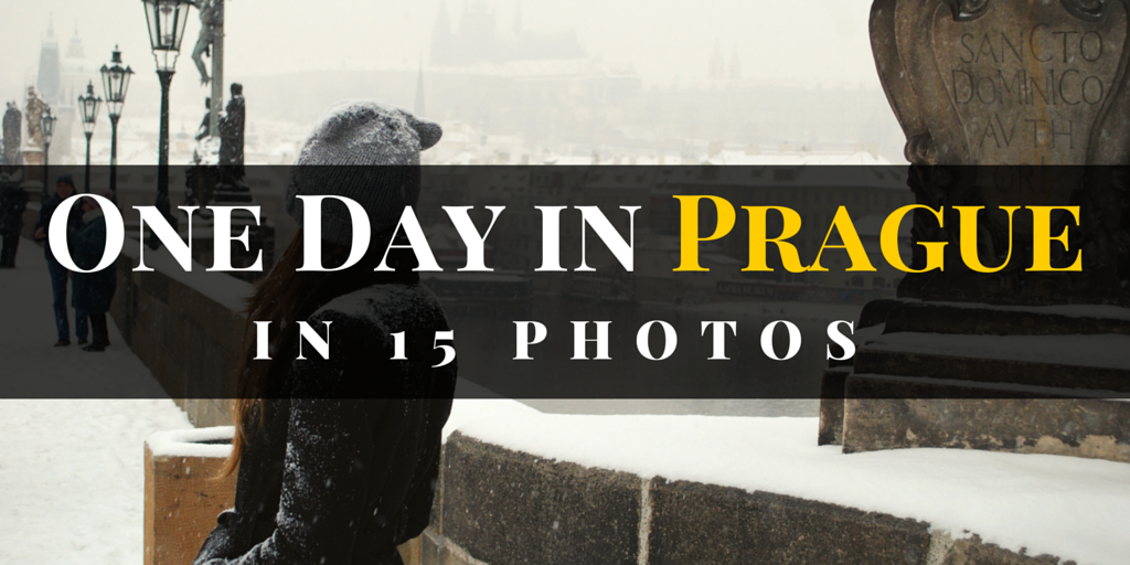 One Day in Prague in photos