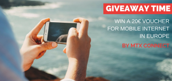 Enter Now and Win a 20€ Voucher for Mobile Internet in Europe