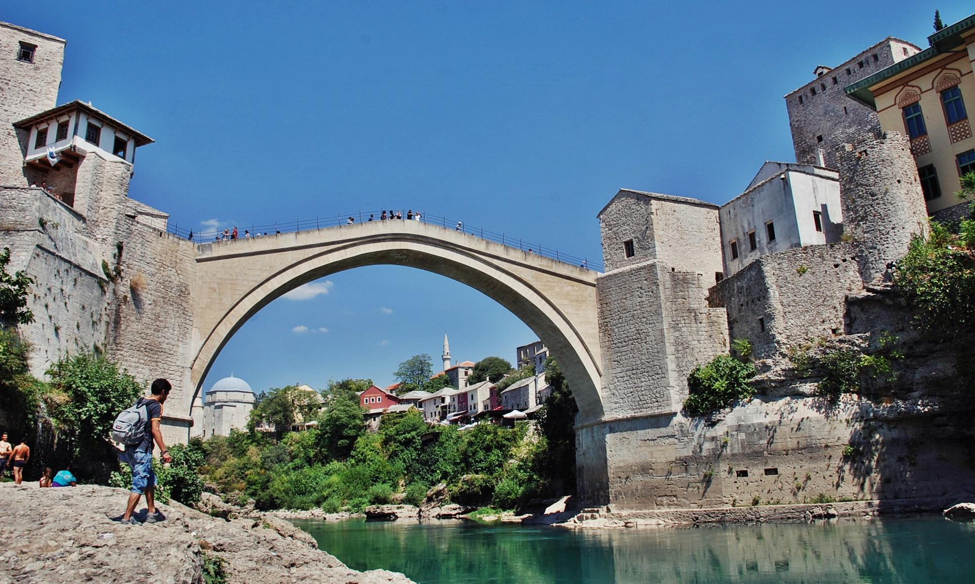 Sanjin Halilovic, Old bridge, Mostar