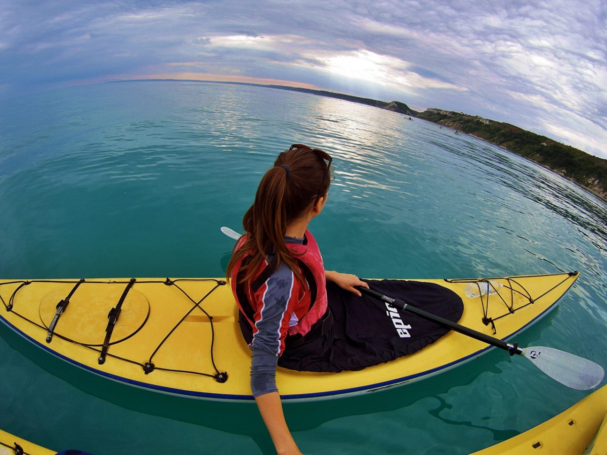 sea kayaking bulgaria