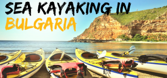 Sea Kayaking on the Bulgarian Black Sea coast
