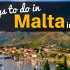 9 Things to do in Malta