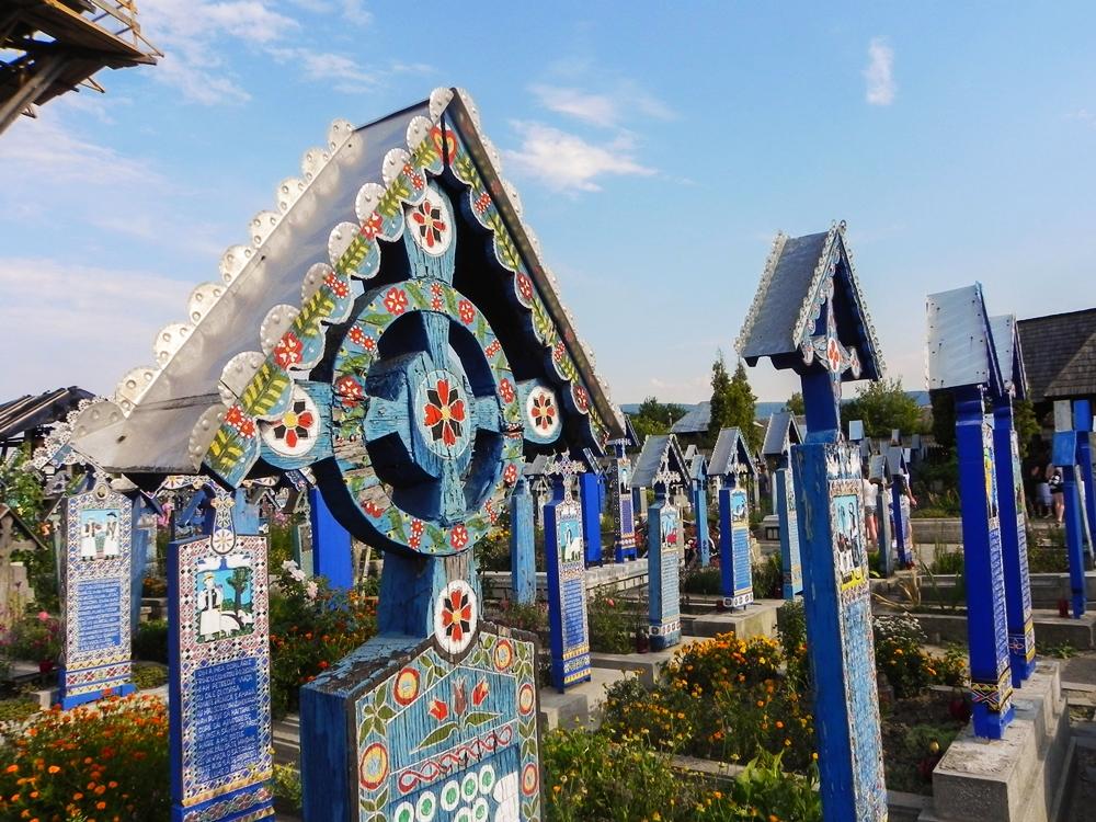 merry-cemetery-sapanta-maramureș region of romania