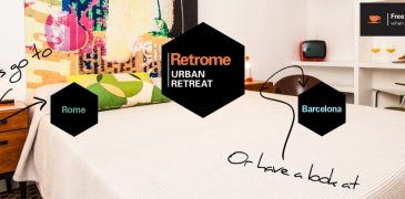 retrome accommodation in the heart of Rome