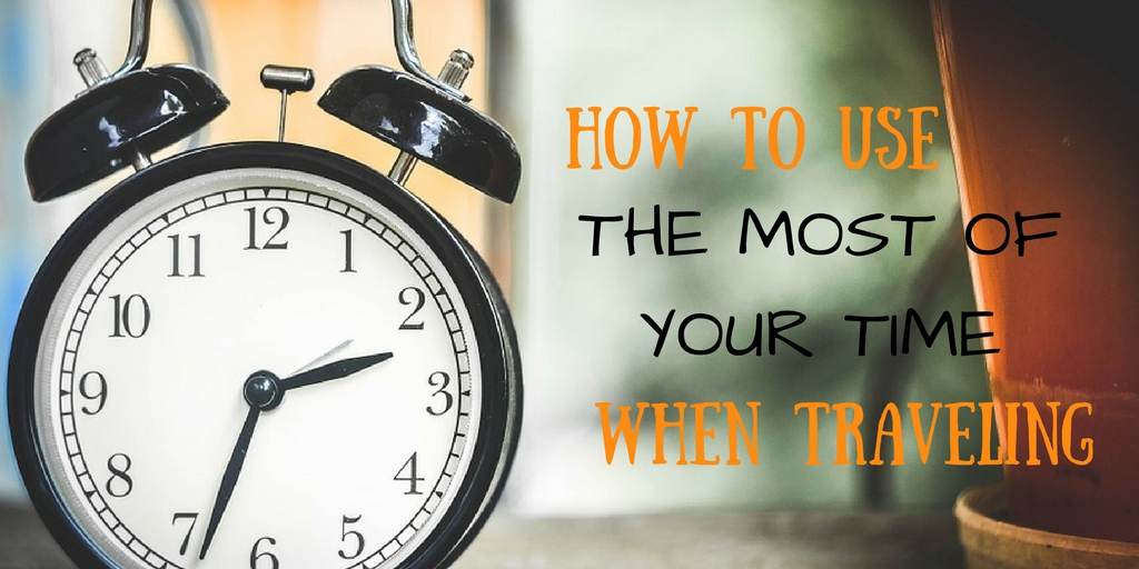 use most time when traveling