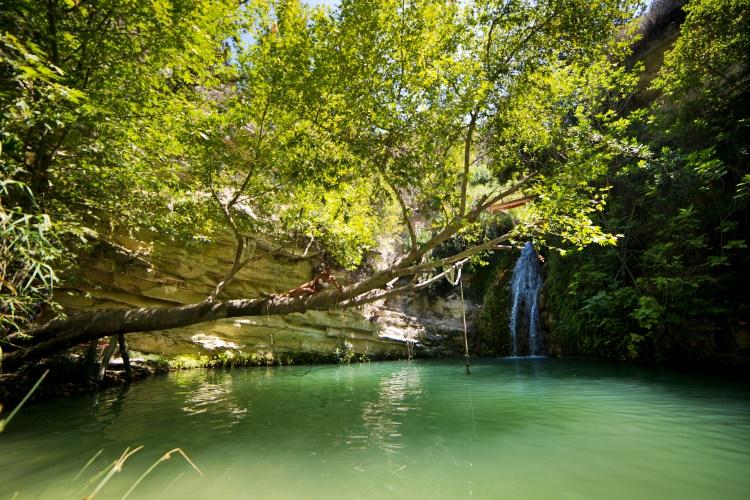 adonis-baths-waterfalls cyprus