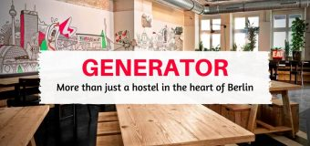 Generator Hostel Berlin – More than just a hostel in the heart of Berlin