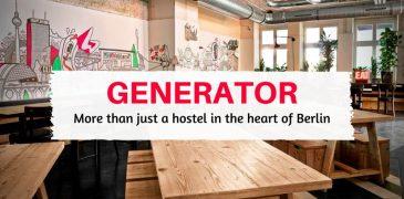 generator hostel in the heart of Berlin