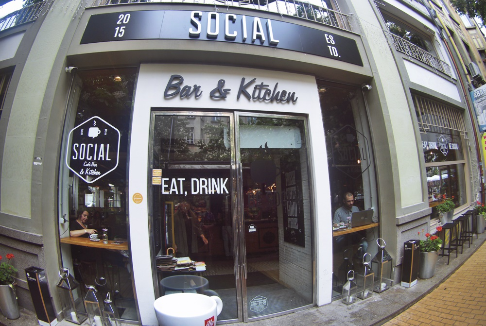 Social Cafe Bar & Kitchen Sofia Bulgaria