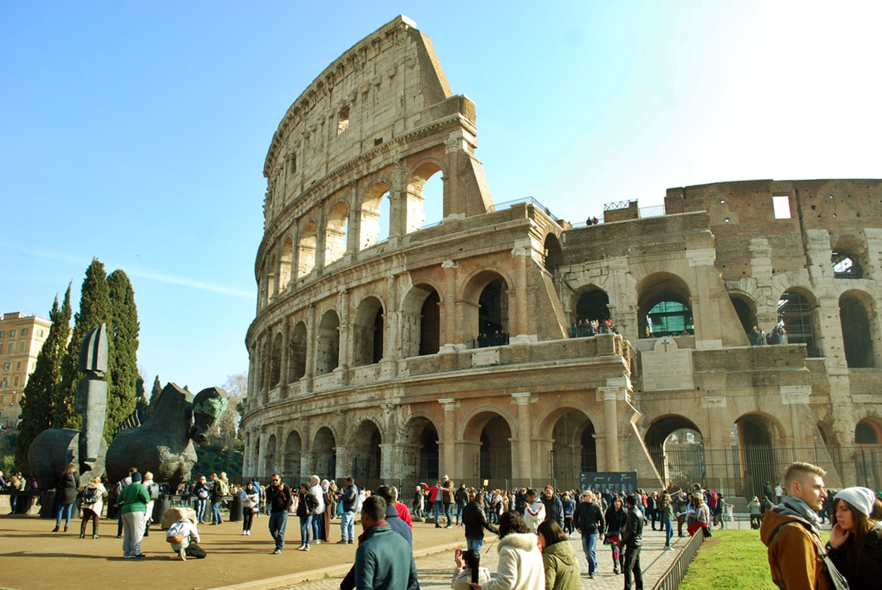 3 days in rome itinerary - colosseum