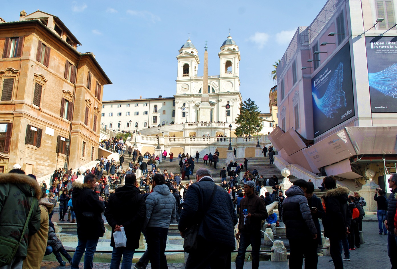 3 days in rome itinerary - spanish steps