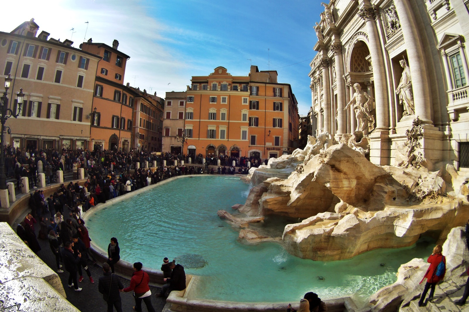 3 days in rome itinerary - trevi fountain