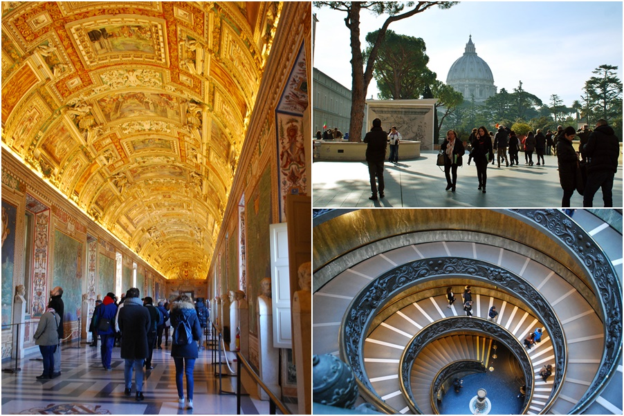 3 days in rome itinerary - vatican museums
