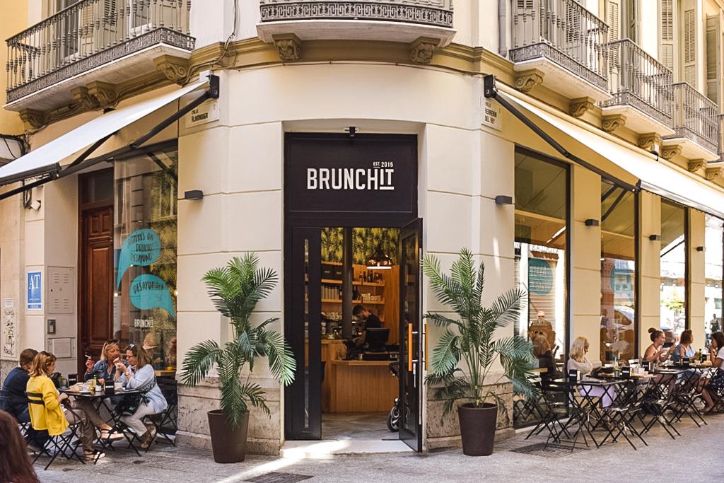 Brunchit restaurant in Malaga