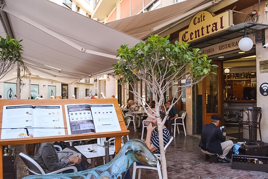 Cafe Central in Malaga
