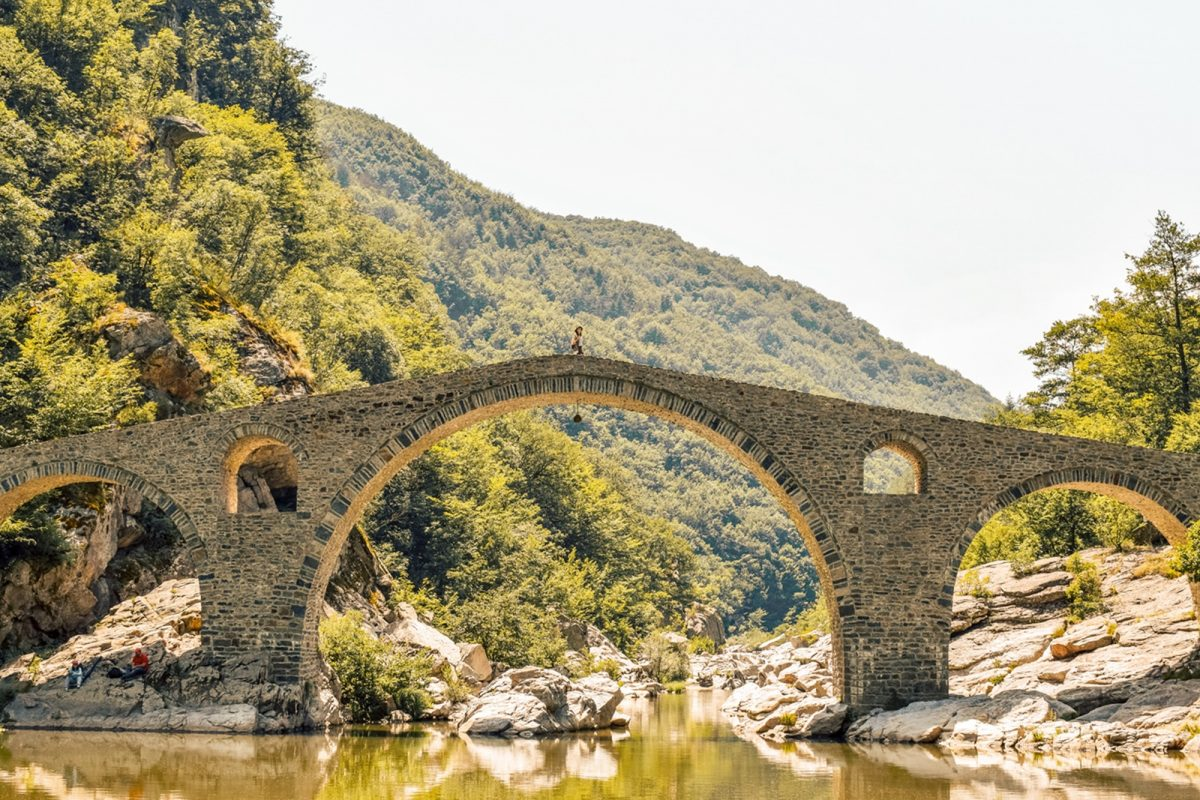 Devils Bridge - roadtrip in bulgaria