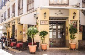 El Patio restaurant in Malaga