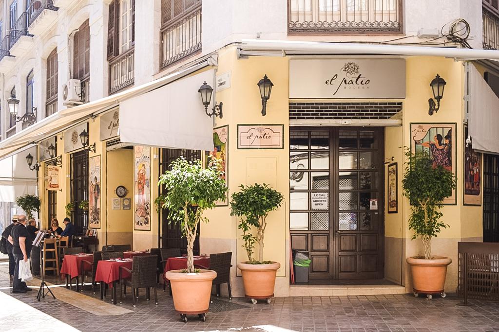El Patio Restaurant In Malaga Travelling Buzz